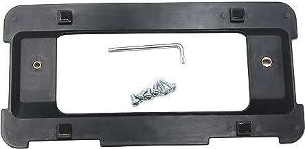 REDWOLF Rear License Plate Frame Bracket Holder Black for BMW 1/2/ 3/5 / 6/ X Series License Number Cover W/ 6 Screws& Wrench(328i 323i 528i M3)