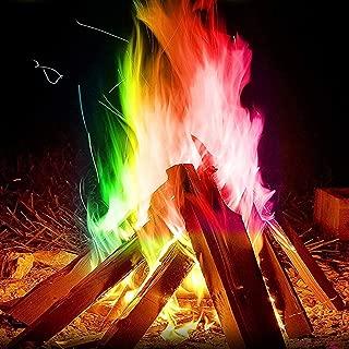 Gojiny Magic Neon Flames Fire Magic Tricks Bonfire Camp Fire Colorful Flame Powder Games Toy