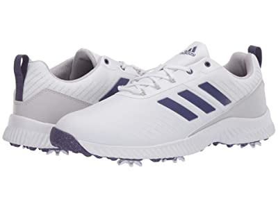 adidas Golf Response Bounce 2 (Footwear White/Grey Two/Purple Tint) Women