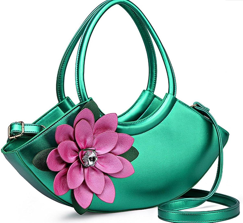 BAOBXX BAOBXX BAOBXX HYLM Art- und Weisedame-Handtaschen Kurier-Beutel-Blaumen punktierte Schulter Bagg B07L5GQJ55  Bestellung willkommen e1e701