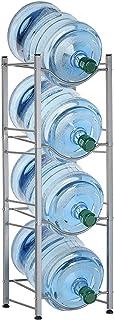 Liantal - Jarra de agua con soporte para botellas de agua desmontable de 5 galones, 4-Tier Water Rack