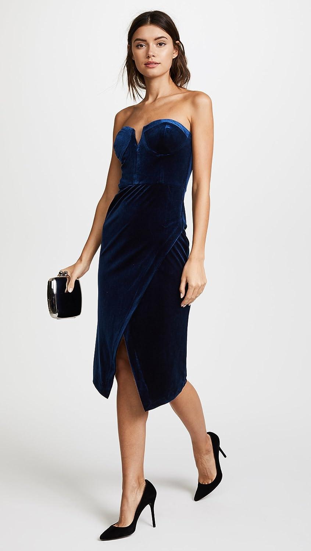 Buy Yumi Kim Womens Velour Allure Dress, Navy, Blue, XX