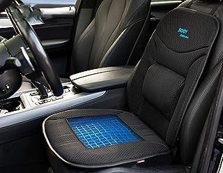 SOJOY iGelComfort Almofada de assento antiderrapante para cóccix ortopédica suporte lombar em gel respirável de luxo (Pret...