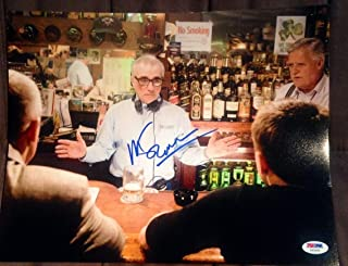 martin scorsese autograph