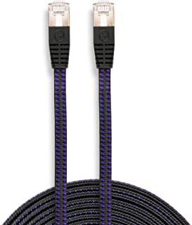 KontrolFreek CAT6 Ethernet Gaming Cable12 FT - Professional Series - 1Gigabit/Sec Network/High Speed Internet Cable, 550MHZ
