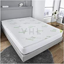 Gaveno Cavailia Luxury 2cm Bambo, Anti-Bacterial Soft & Cosy Bed Topper, Hypoallergenic Breathable 100% Polyester Mattress...