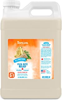 TropiClean Flea and Tick Bite Relief After Bath Treatment for Pets, 2.5 gal, Made in USA
