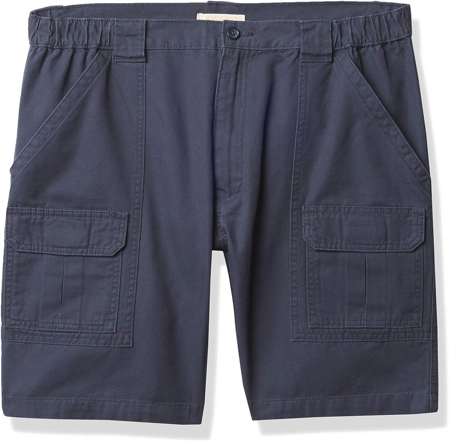 Savane Fees free!! Men's Standard Hiking Cargo Cheap SALE Start Shorts