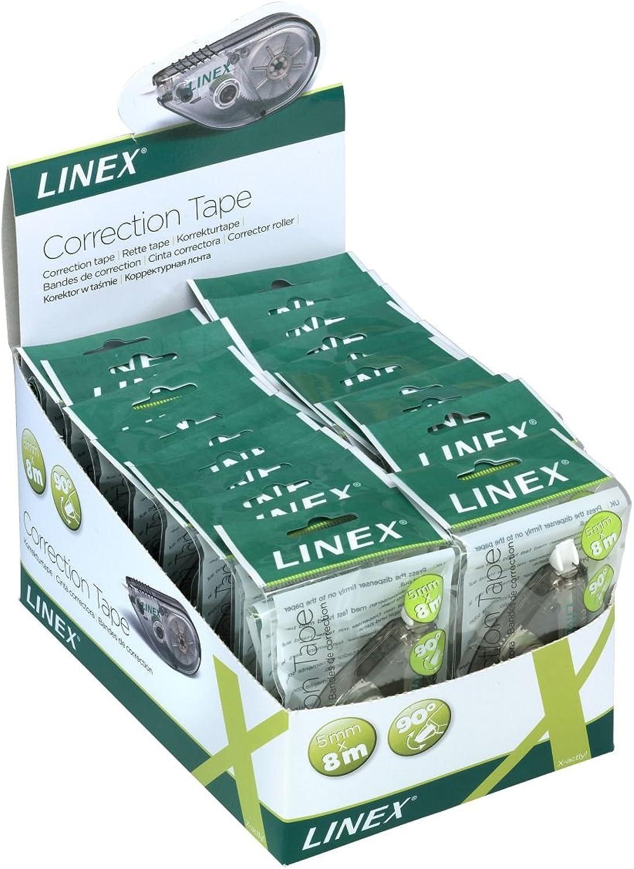 LINEX 400037830 24er Pack Korrekturabroller drehbarer Korrekturabroller Korrekturabroller Korrekturabroller 5mm x 8m Korrekturmaus mit ergonomischer Form B07FN4Y4S4 | Lebhaft und liebenswert  e53996