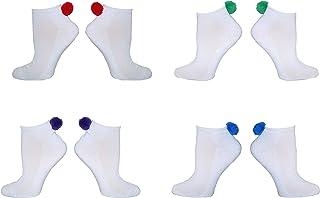 9d0e2b27bfd Amazon.com: pom pom socks women