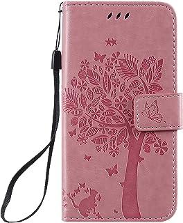 LODROC Lederen Portemonnee Case voor Galaxy A2 Core, [Kickstand Feature] Luxe PU Lederen Portemonnee Case Flip Folio Cover...