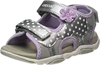 Geox B Agasim Girl, Sandales Bout Ouvert Fille