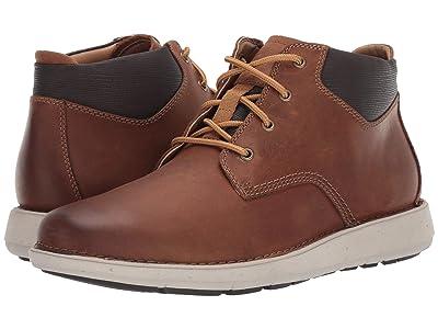 Clarks Un Larvik Top (Tan Oily Leather) Men