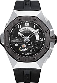 Sponsored Ad - Reef Tiger Luxury Sport Automatic Mechanical Watches for Men Steel Watches RGA92S7