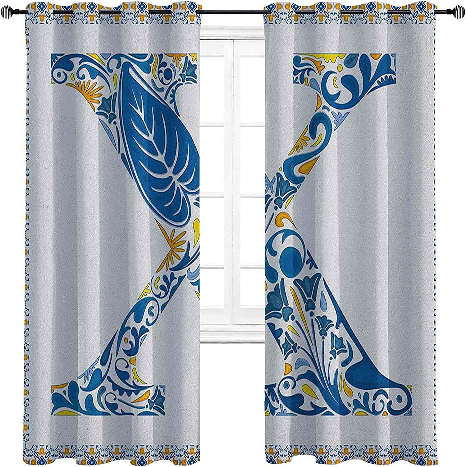 Letter X Shading Insulated Nature Curtain Inspired New Luxury product type Arrangement