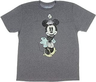 Disney Minnie Mouse Shirt Vintage Cute Graphic Men's Adult T-Shirt