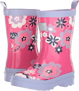 Hatley Kids - Sketchy Flowers Rain Boots (Toddler/Little Kid)
