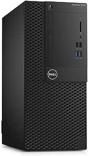 Dell OptiPlex 3050 Mini Tower   Intel Celeron G3900 2.8GHz   4GB Memory   256GB SSD   DVD/RW   Windows 10 Pro (Renewed)