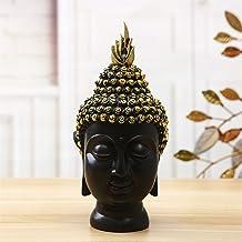 PPCP Resin Buddha Head Crafts Buddhist Figure Head Statue Creative Home Decoration Living Room Tea Table Decoration Ornaments