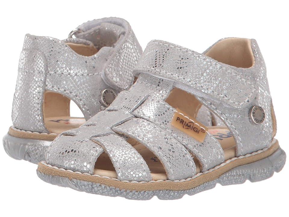Primigi Kids PPD 34125 (Toddler) (Silver) Girls Shoes