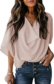 Womens Blouses and Tops for Work Fashion 2021 Casual...