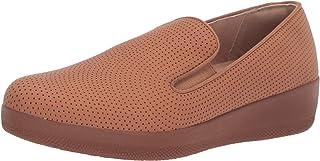 FitFlop Superskate 女士穿孔滑板鞋