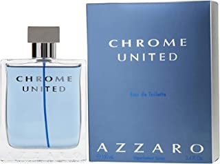 Azzaro Chrome United for Men - Eau de Toilette, 100 ml