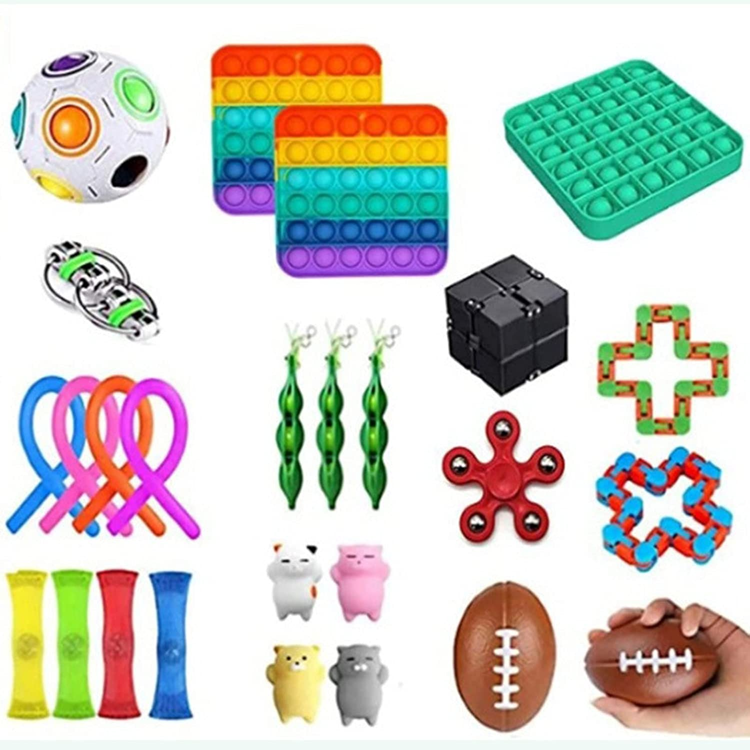 Sensory Ranking TOP2 New York Mall Toy Set Waterproof Silicone can Material Help Reli You