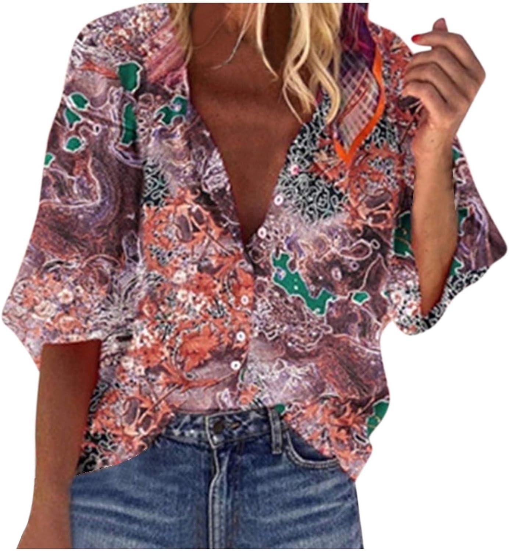 Aiouios Lightweight Sweatshirts for Women Graphic 1/2 Zipper up Long Sleeve Shirt Casual Loose Tie Dye Blouses Tops