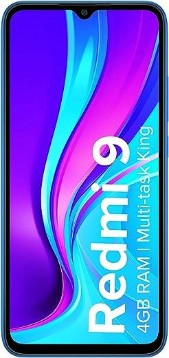 Redmi 9 (Carbon Black, 4GB RAM, 64GB Storage) | 2.3GHz Mediatek Helio G35 Octa core Processor 1