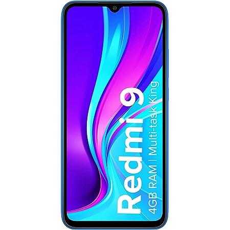 Redmi 9 (Carbon Black, 4GB RAM, 64GB Storage) | 2.3GHz Mediatek Helio G35 Octa core Processor