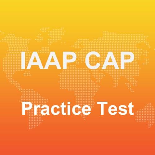 IAAP CAP Practice Test 2017
