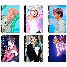 6 Pack/180 Pcs BTS V Lomo Card KPOP Bangtan Boys Photocards Greeting Card with Postcards Box