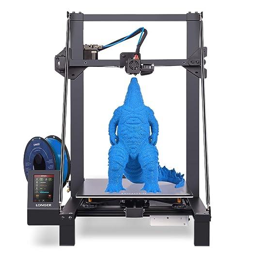 45 opinioni per LONGER LK5 Pro Stampante 3D, al 90% Pre-Assemblato, Vetro Reticolare, Scheda
