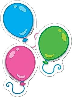 Carson Dellosa – Balloons Mini Colorful Cut-Outs, Classroom Décor, 36 Pieces