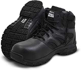 "Original S.W.A.T. Force 6"" Side Zip Men's Tactical Boot - Black"