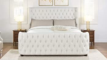 Jennifer Taylor Brooklyn Headboard Set (King, Star White)