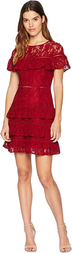 Aphrodite Ruffle Lace Dress