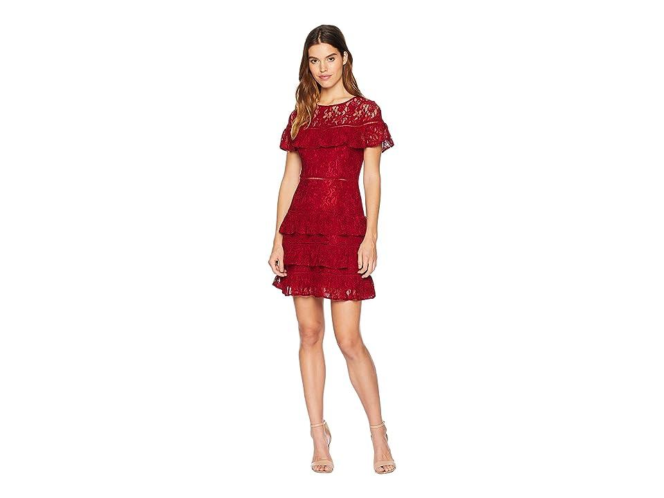 BB Dakota - BB Dakota Aphrodite Ruffle Lace Dress