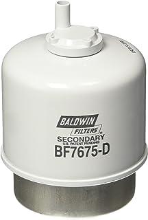 Baldwin Heavy Duty BF7675-D Fuel Filter,4-15/32 x 3-9/32 x 4-15/32In