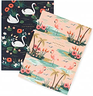 Birds of a Feather Notebooks by Rifle Paper Co. -- Set of 2