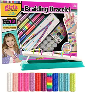 Barwa Friendship Bracelet Kit, Arts and Crafts Maker Toy for Girls Christmas Birthday Gifts Ages 6yr-12yr, Best Bracelet M...