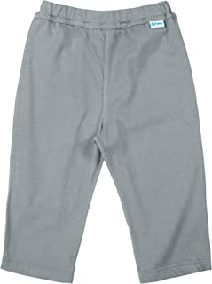 i play. Kid's Yoga Pants Made from Organic Cotton-Gray-12mo Pants