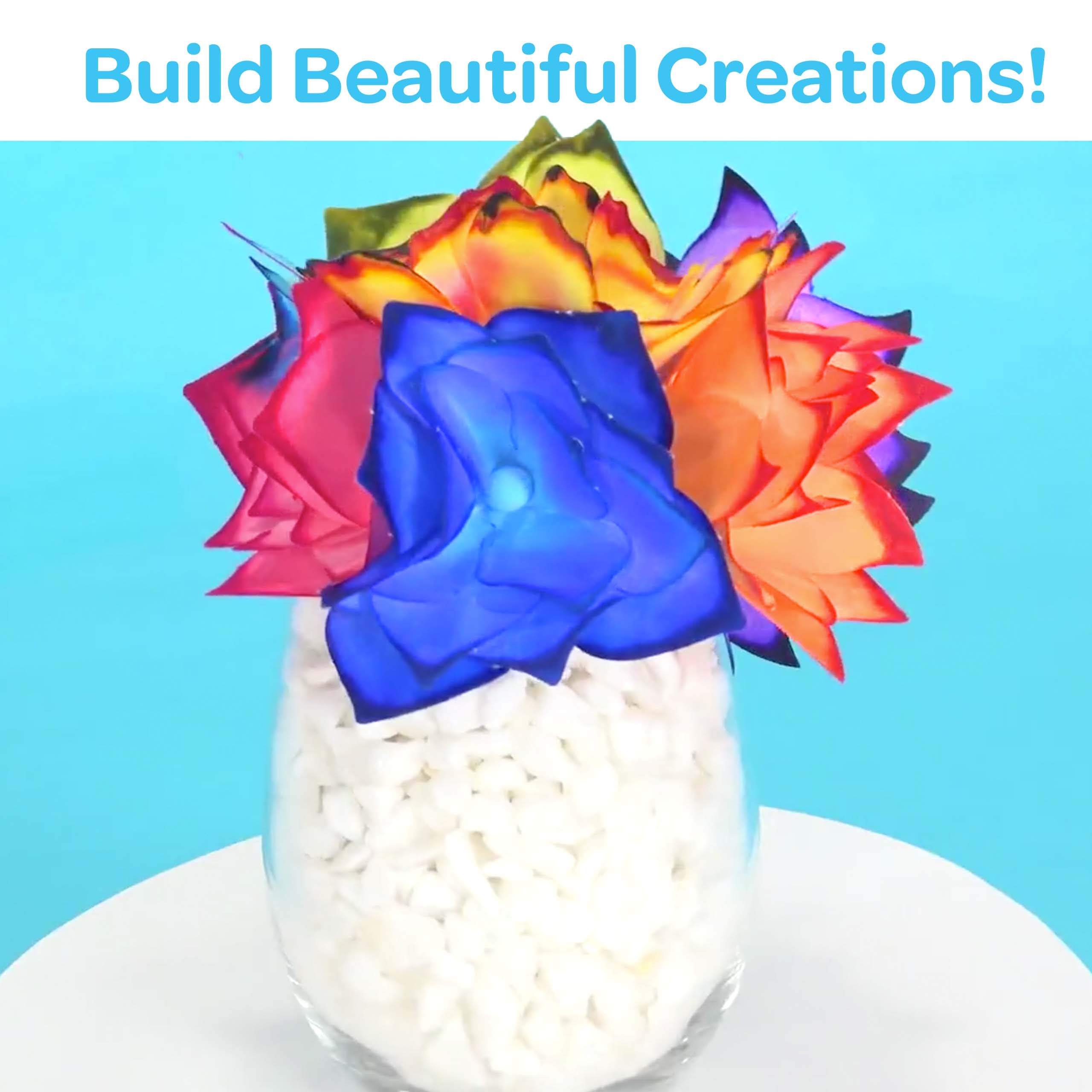Color Changing Flowers 9 Multi Gift for Kids Ages 7 8 Crayola Paper Flower Science Kit 10