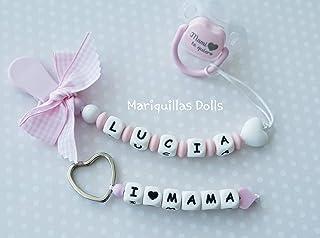 Amazon.es: chupetes personalizados - Bebé: Handmade