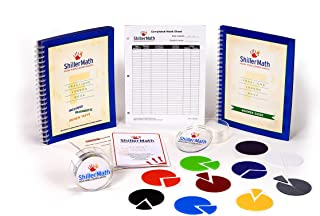 ShillerMath Fractions Kit - Homeschool Math Montessori Curriculum - (2nd Grade to Pre-Algebra)
