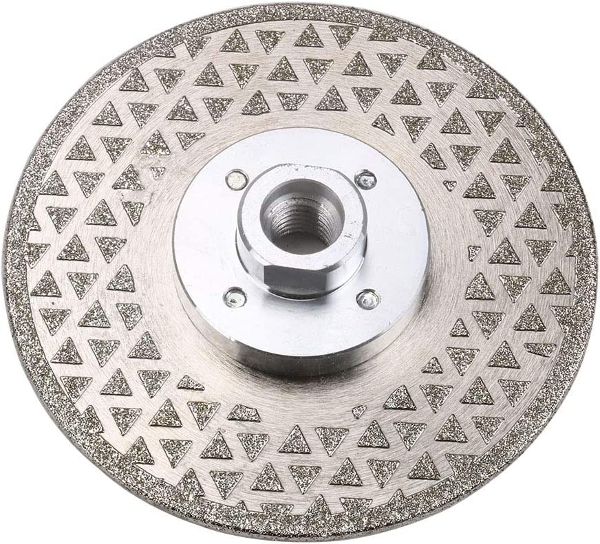 """WenFo 4"""" ! Super beauty product restock quality top! 100mm 2021 spring and summer new Diamond T Disc Flange Electroplated"""