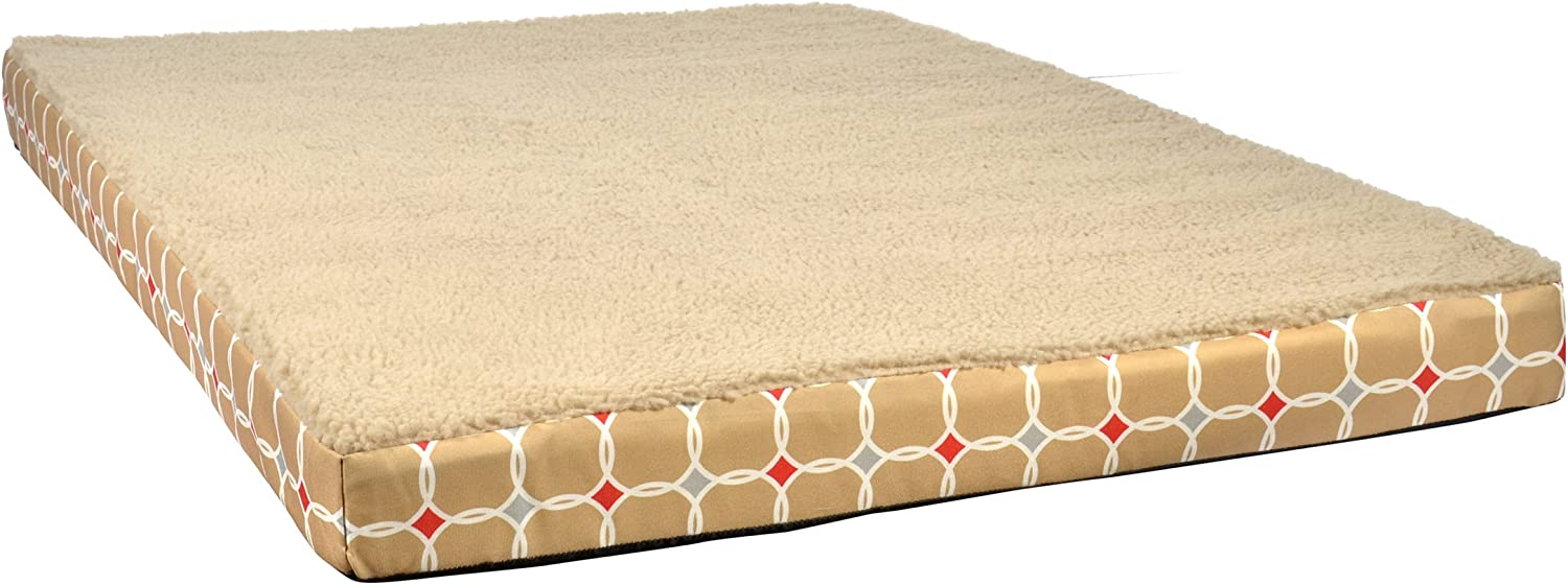 Nature's Miracle Orthopedic Pet Bed, 30 by 21 by 3Inch (NM5402)