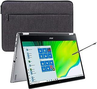 "2020 Acer Spin 3 14"" FHD Touchscreen Laptop Computer, 10th Gen Intel Quad-Core i5 1035G1 (Beats i7-7500u), 8GB DDR4 RAM, 2..."