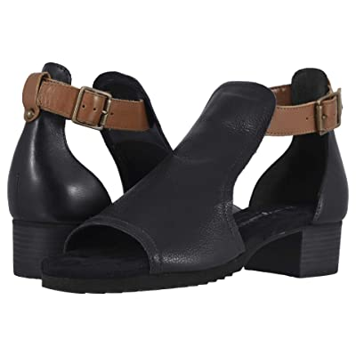 Walking Cradles Chandra (Black Tumbled Leather) High Heels